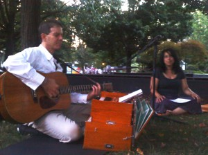 dw and umaa in park