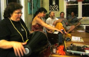 kirtan at carraige house edited